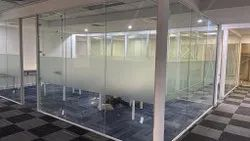 Demount-able Glass Partition