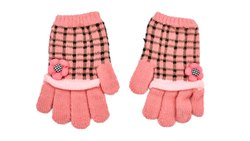 Designer Check Winter Gloves