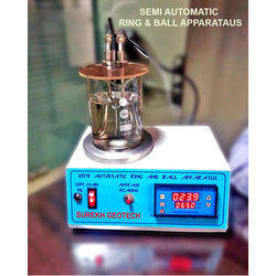 Semi Automatic Ring & Ball Apparatus