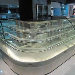 L Type Food Counter