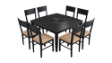 Jewel Pro 8 Seater Dining Table