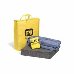 NewPIG Spill Kit in High-Visibility Bag - KIT220 Universal Spill Control & Absorbents