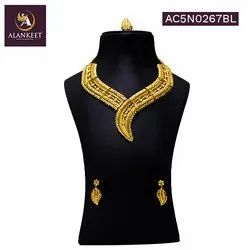 New Collection Gold Plated Party Wear Jewelry