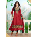 Ladies Red Anarkali Suit