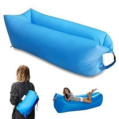 Lazy Travel Inflatable Sofa Sleeping Bag For Outdoor