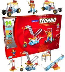 Techno Jr Kids Construction Mechanical Technical Educational Toys