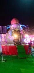Iron Necklace Wedding Jaimala Decoration Stage