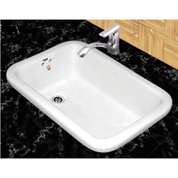 Single Ceramics Ceramic Kitchen Sink, Rs 900 /piece ...