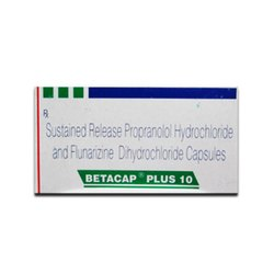 Sustained Release Propranolol Hydrochloride And Flunarizine Dihydrochloride Capsules