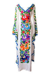 Butterfly long kaftan