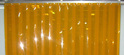 PVC Strip Curtain Amber Anti Insect