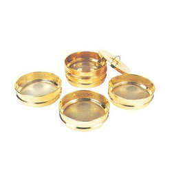 Brass Frame Sieves