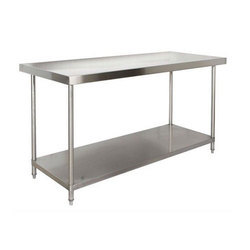 Stainless steel kitchen table manufacturers suppliers of ss stainless steel table workwithnaturefo