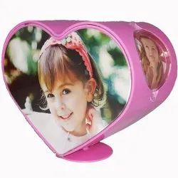 Bold Heart Photo Frame