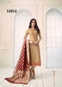 Georgette Satin Embroidered Party Wear Salwar Kameez