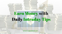 Intraday Stock Options Tips