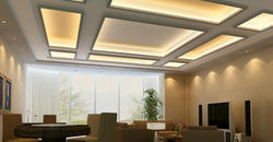 Multicolor Modern PVC False Ceiling Installation Services
