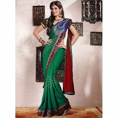 a88b45292b Butterfly Pallu Saree at Rs 2500 /piece | Yogi Chowk | Surat | ID ...