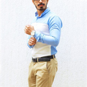 Cotton Regular Fit Men Casual Shirt