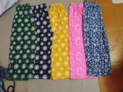 Hosiery Printed Ladies Wear Capri Top ( No Retail )