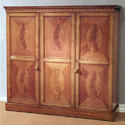 Brown Triple Door Cupboard
