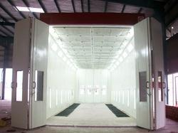 Bus Spray Paint Booth