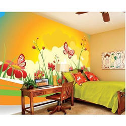 Vinyl Kids Wall Covering