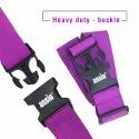 Luggage Strap Fully Adjustable Packing Belt for Suitcases and Travel Luggage 200cm x 5cm - Violet