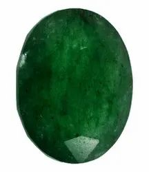 Kesar ZemsGreen Colour Chinise Panna Gemstone