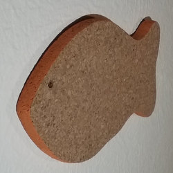 Fish Pinboard Made Of Cork