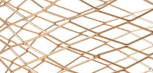SS316 Copper Hexagonal Wire Mesh, For Industrial