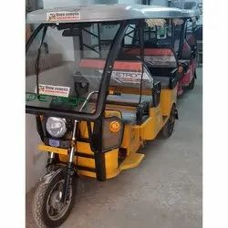 Etron Eco Friendly Passenger E Rickshaw, Seating Capacity: 5 Seater Including Driver