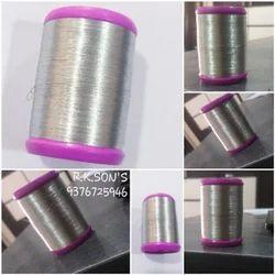 silver zari kasab with 16 grams silver
