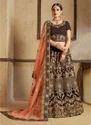 Thread Embroidery Work Designer Lehenga Choli