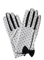 Polka Dotted Gloves