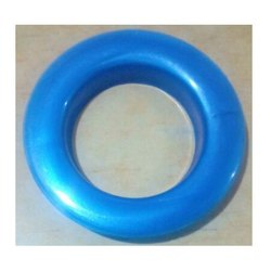 Blue Color Jumbo Size Curtain Ring With Washer