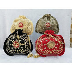 Potli Embroidered Bag