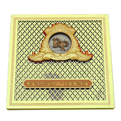 Innovative High Quality Box Invite, Size/Dimension: 10.25
