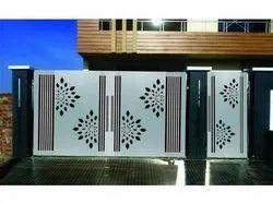 Mild Steel MS CNC Gates & Windows Design, For Office