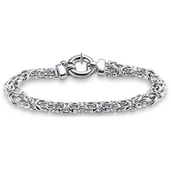 DSA Party Wear, Casual Sterling Silver Bracelet