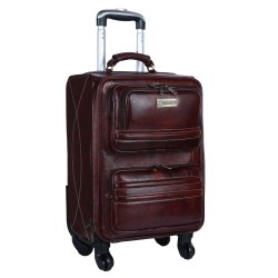Hammonds Flycatcher Genuine Leather Luggage Suitcase