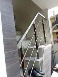 Polished Steel Railings, For Home