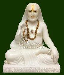 Marble Guru Raghavendra Swami Statue