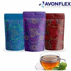 Printed Laminated Tea Packaging Pouch