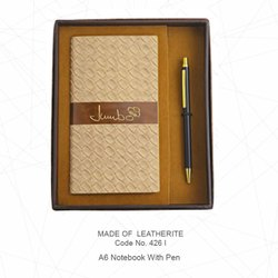 Leatherite Notebook Combo Sets ( 2 in 1)