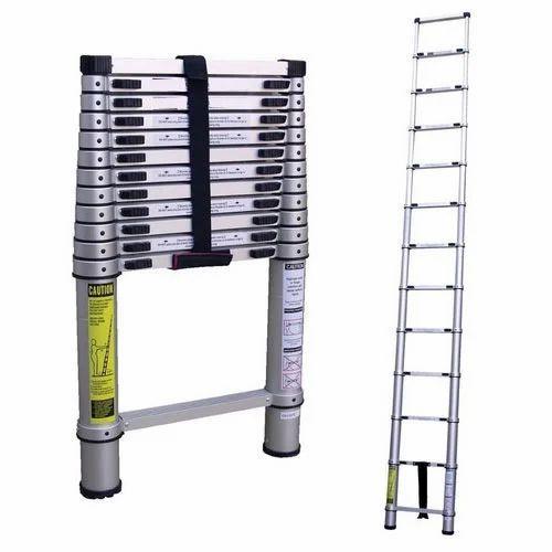 4m telescopic ladder grey kitchen tap