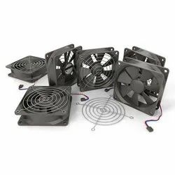 Black SIBBAS Cooling Fan, Voltage: 24 V DC & 110 / 220 V AC