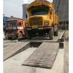 Foundation Less Truck Scale