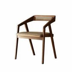 Sheesham Wood Upholstery Chair