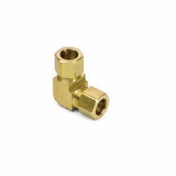 Samir Steel Syndicate Ferrule Fittings Brass Union Elbow for Gas Pipe, Size: 1 inch